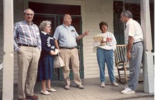 picture of some of the founders of NCSHHH at a founding meeting in 1989.